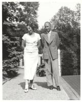 Hungary. Margit Dirac with brother E. P. Wigner