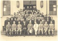 Japan. Paul Dirac, W. Heisenberg, and others in group portrait
