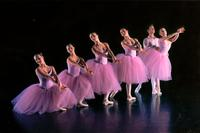 Group of dancers performing Valse Fantaisie in An Evening of Dance in 2001