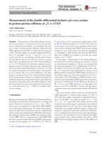 Measurement of the double-differential inclusive jet cross section in proton-proton collisions at [Formula