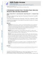 randomized controlled trial of The Body Project
