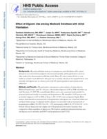 Effect of Digoxin Use Among Medicaid Enrollees With Atrial Fibrillation.