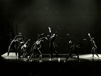 Group of dancers performing Anvil