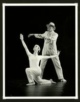 Marie Pelletier and Stuart Hodes performing Beggar's Dance