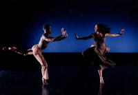 Jullian Lloyd and Millicent Johnnie in An Evening Of Dance
