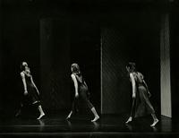 Peggy Thrasher, Alyson Jones and Rhonda Blanchard dancing in Shades of Time