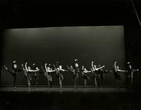 Group performing a dance choreographed by Richard Sias