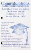 2004 High School Grads!