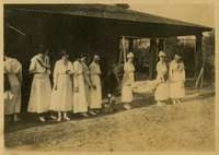 Group of Women in White