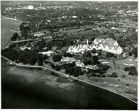 Aerial view of the Belleview-Biltmore Hotel and grounds