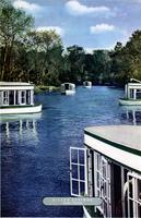 Boats on Silver Springs in Ocala, Florida