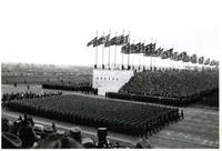 Nazi military parade in Nuremberg, Germany