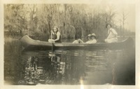 4 Women in  a Canoe