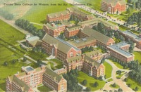 Florida State College for Women, from the Air, Tallahassee, Fla.