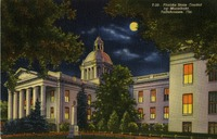 Florida State Capitol by Moonlight, Tallahassee, Fla.