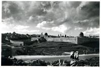View of Jerusalem from the Jericho Road