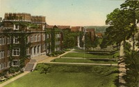 Bryan Hall and Sunken Garden, Florida State College for Women, Tallahassee, Fla.