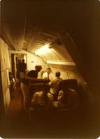 Several people on a plane