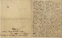 Letter to Brother Philippe of Colloredo from the Count of Dillon