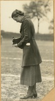 Betty Meyer with a Camera