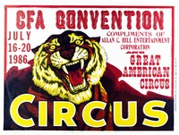 Circus Fans of America convention. 1986