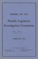 Report of the Florida Legislative Investigation Committee