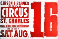 Carson and Barnes circus in St. Charles, Illinois