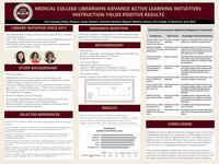 Medical College Librarians Advance Active Learning Initiatives