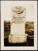 Clipped Items: Photo of Gravestone of Mufdo MacKenzie and Margaret MacLennan, List of Descendants & Ancestors