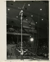 FSU Flying High Circus Performing Perch Pole