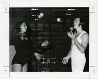 Gymkana's Juggling Duo, Martha Detar and Warren Bacon