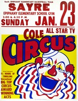 Cole Circus in Sayre, Pennsylvania