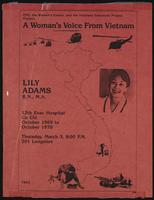 Woman's Voice from Vietnam
