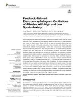 Feedback-Related Electroencephalogram Oscillations of Athletes With High and Low Sports Anxiety.