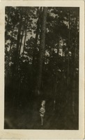 Dempsey Creary in a Forest