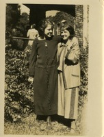 Dorothy Price and an Unidentified Woman