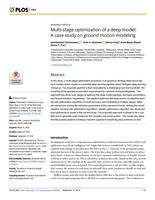 Multi-stage optimization of a deep model