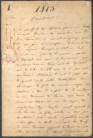 Campaign Journal, Germany, January-December 1813