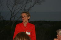 Dr. Felicia Coleman speaking at Faculty Dinner