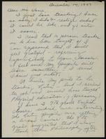 Letter from Louise Lisk Manow to Earl Vance
