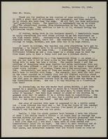 Letter from Edna Hoffman Evans to Earl Vance