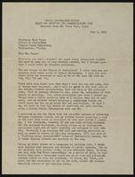 Letter from Earle Bowden to Earl Vance