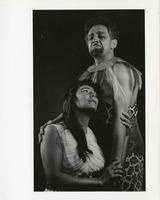 Theatre Promotional Photograph with Couple in Primitive Costume
