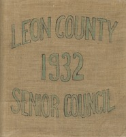 Leon County 1932 Senior Council scrapbook