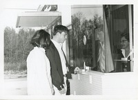 Students at a Ticket Window