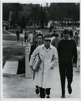 Students Walking on Campus in Cool Weather