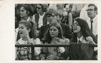 Students in the Stands at a Game