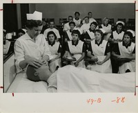 Nursing Instructor Teaching Her Students