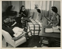 Publicity Photo of Students in a Dorm Room