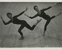 Two Modern Dancers: Gail Sontgerath and Caroline Drummond
